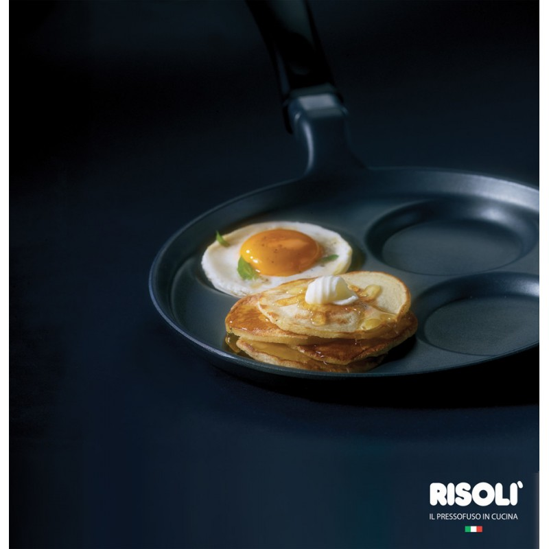 Explora Risoli Επαγωγικό Τηγάνι Pancakes 25εκ