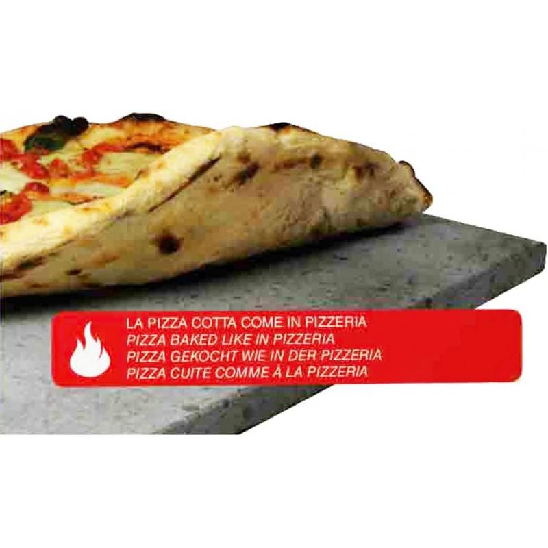 Eppicotispai Etna Σετ Πέτρα Ψησίματος Pizza και Ξύλο 38x30εκ