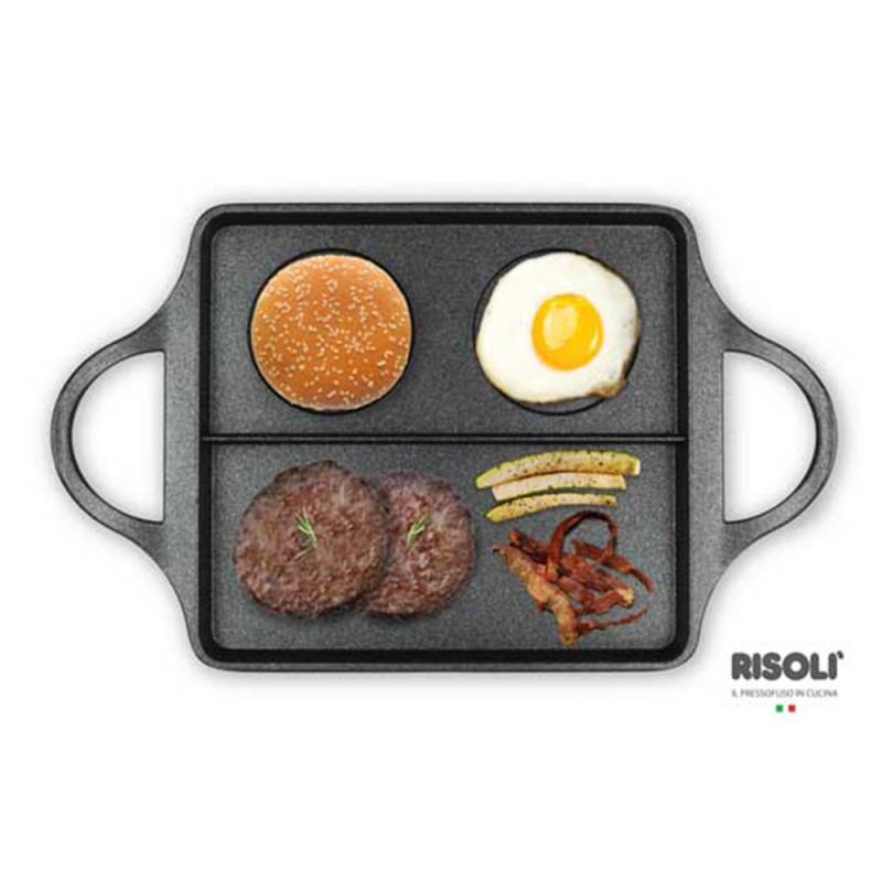 Explora Risoli Επιφάνεια Ψησίματος BB Burger 40x24εκ